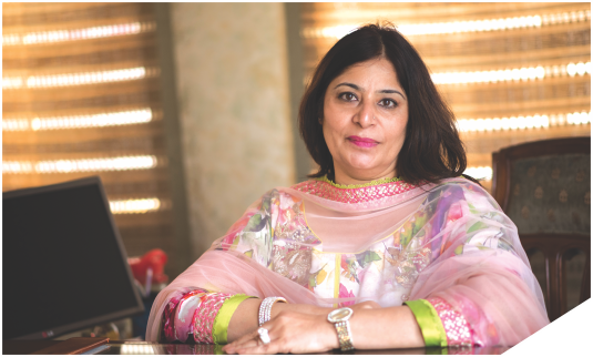 <b>Ms. Sapna jain - Managing Director</b>