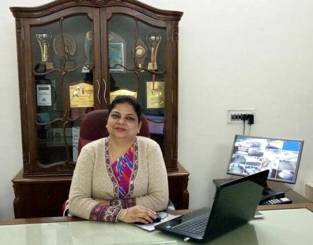 Ms. Luckhvinder Talwar - Principal